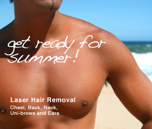 Get ready for summer! Lazer Hair Removal